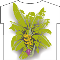 Banana tree T-shirt