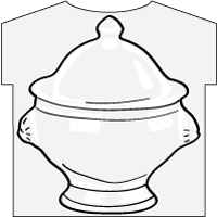 Lion Head Bowl T-shirt